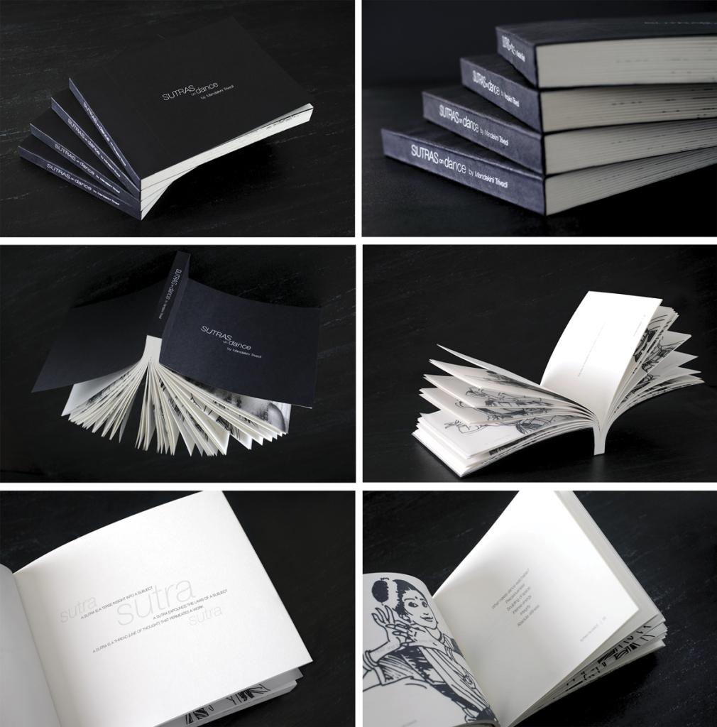 'SUTRAS ON DANCE' - Book Design for Mandakini Trivedi