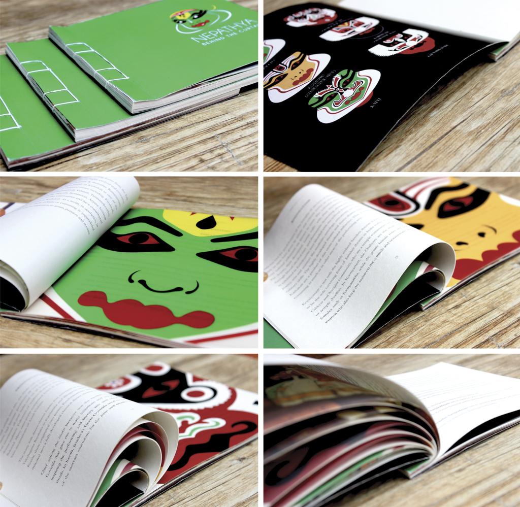 'NEPATHTYA' - Book Design & Book Art; Makeup and Costume Traditions of Kerala Arts