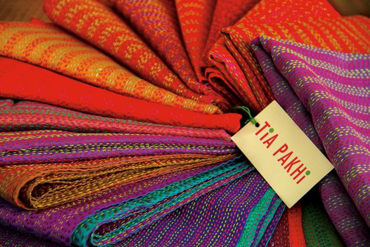 Pile-of-Kantha-scarves-