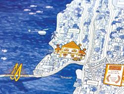 CITY BY THE SEA - Illustration details & Booklet details