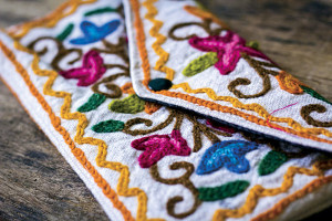 Aari embroidery pouches