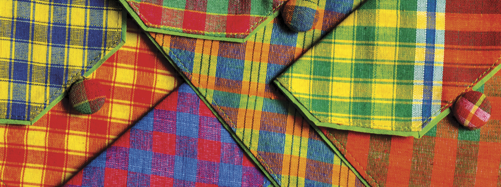 Gamcha Notebook Pouches from the 'Made of India' series available on www.towithfrom.com