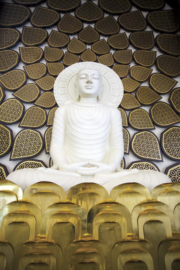 The Buddha Jaali Wall