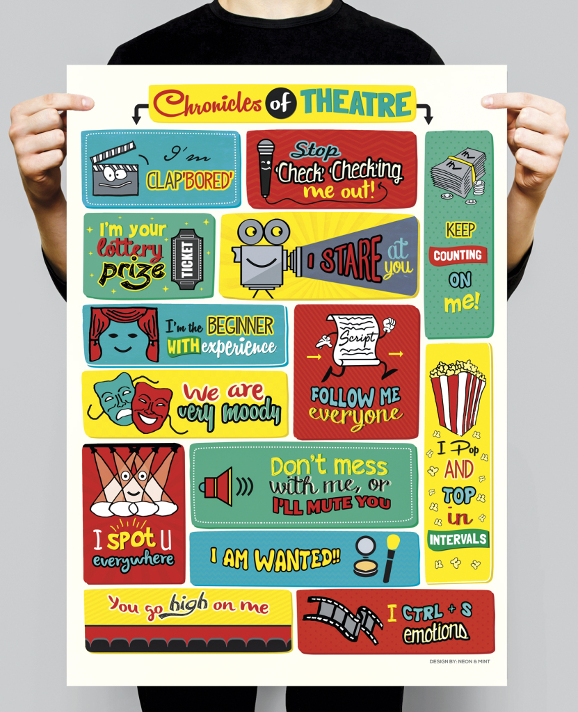 Poster design for fans of a Theater Company, EVAM