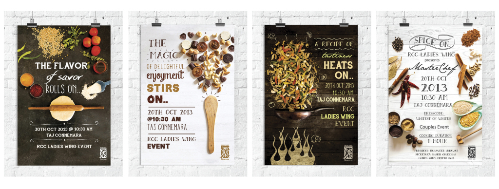 Event promotional material for 'RCC MASTER CHEF EVENT'