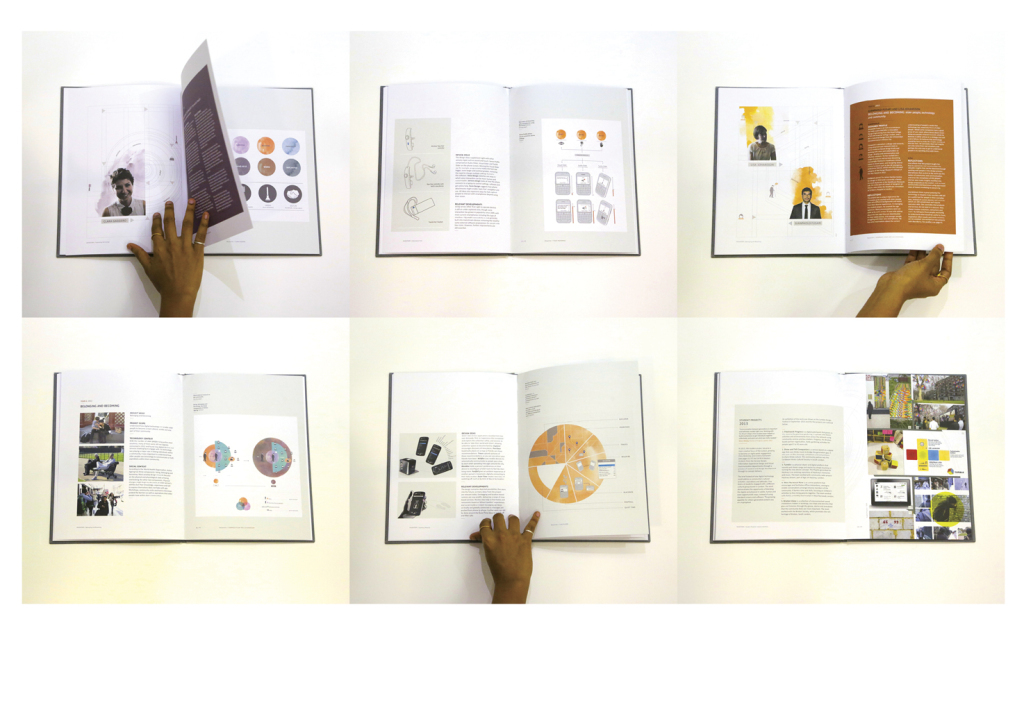 A peak into the information graphics created for Inventory, a book that documents seven years of collaborative research and work from BlackBerry (UK) and the Helen Hamlyn Centre for Design at the Royal College of Art. Printed by Pureprint, London.