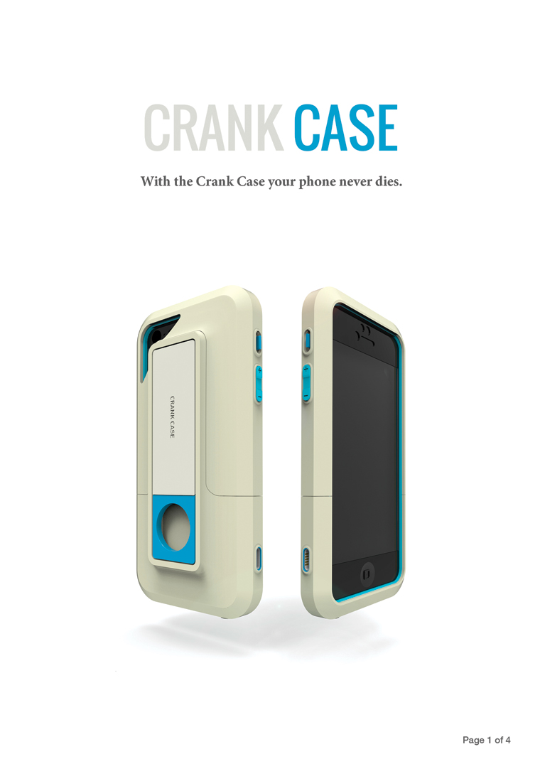 'CRANK CASE' : So your phone never dies!