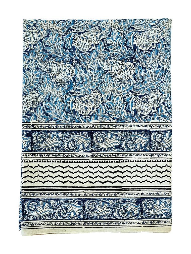 Block-printed bedcover from Andhra Pradesh