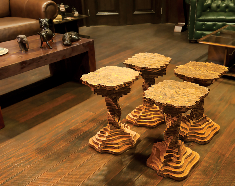 The Twister set of tables