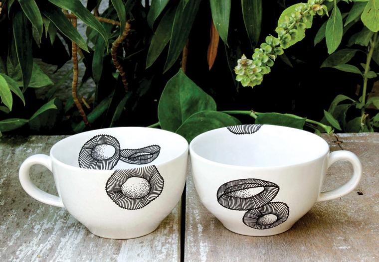 Bloom Stoneware Mugs