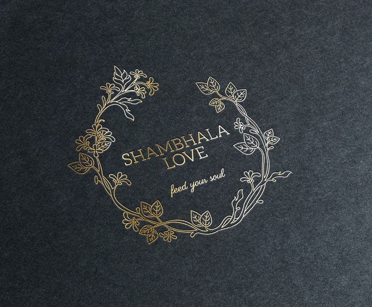 Identity design for Shambhala love