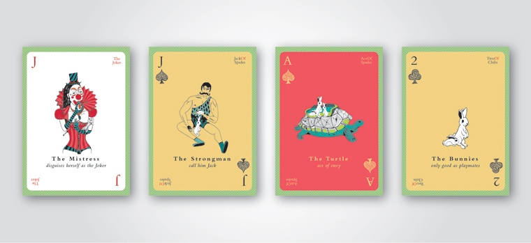 Playing cards by THINGS - Studio Eksaat's product line