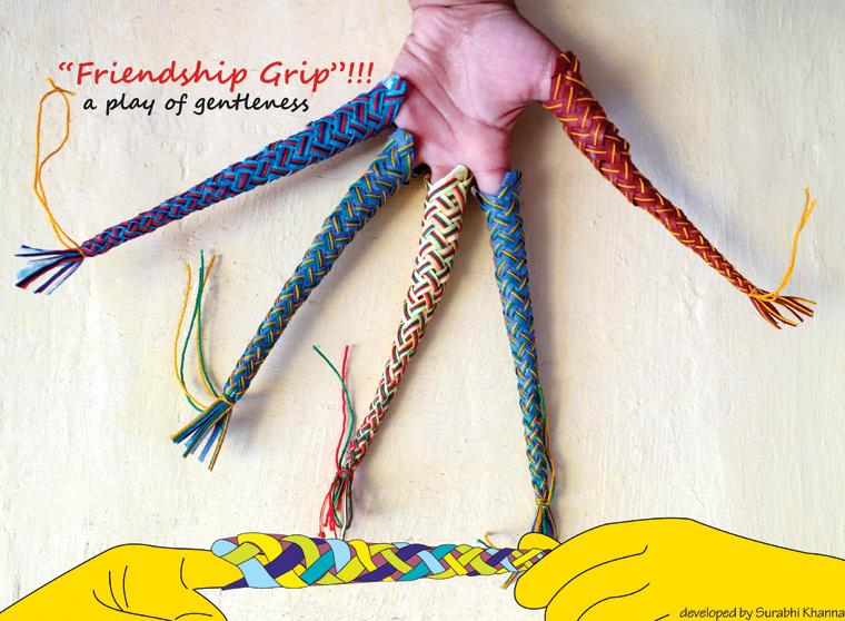 'Friendship Grip' - a playful gift