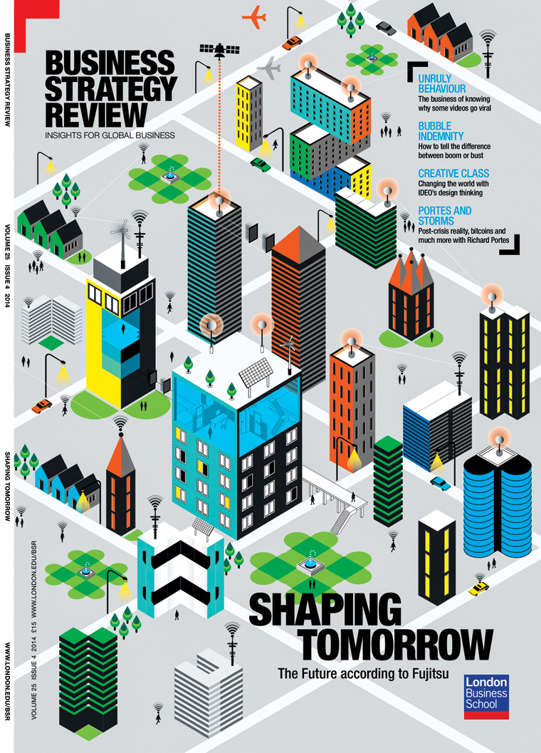 Cover of Business Strategy Review for London Business School