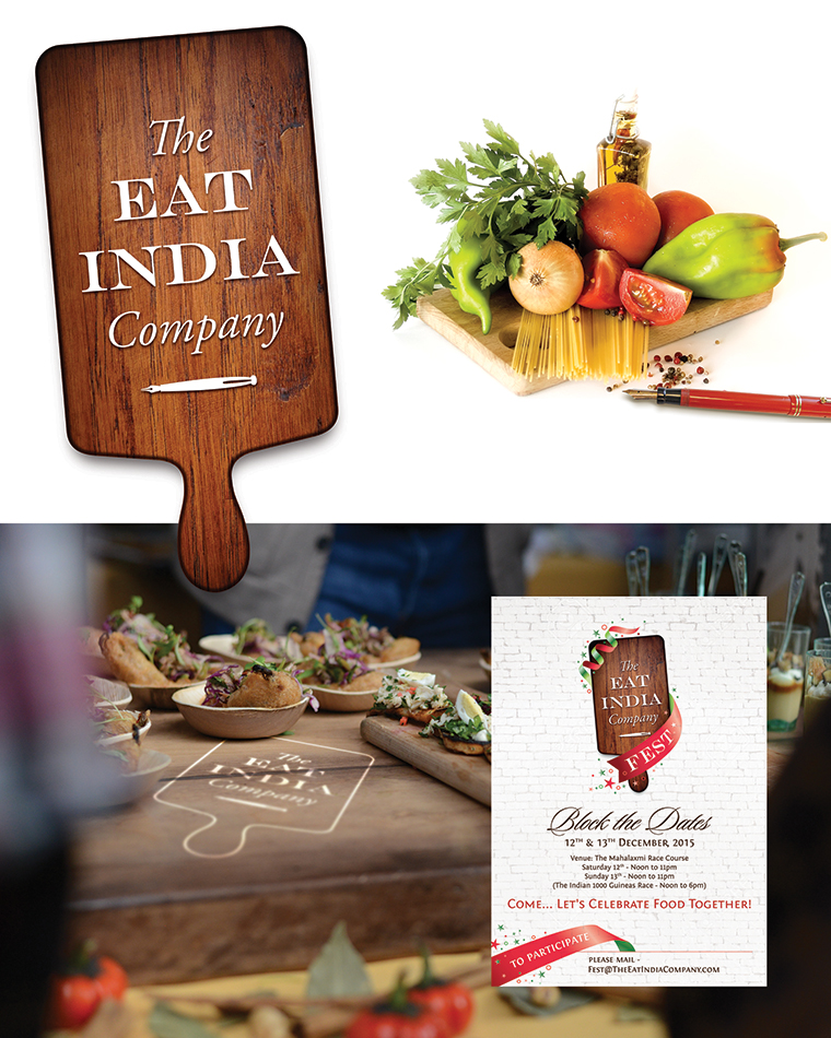 Branding a passionate company that curates food festivals; Eat India Company