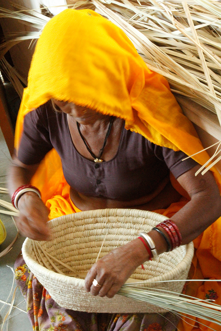 Basket Chair weaving