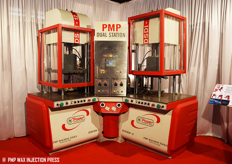 PMP Dual Wax injection Press