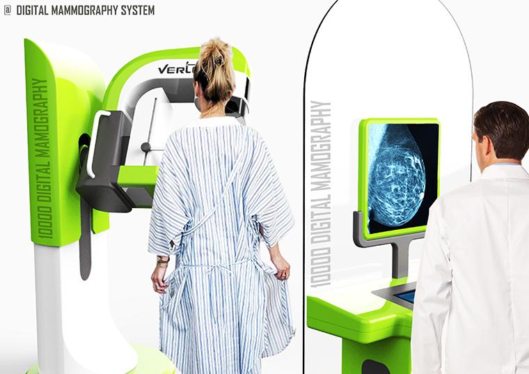 Vertex Mammography