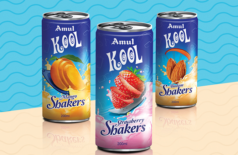 Amul Kool Packaging Revamp