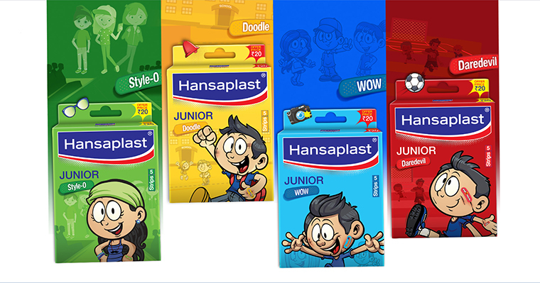 Hansaplast Junior Brand Launch